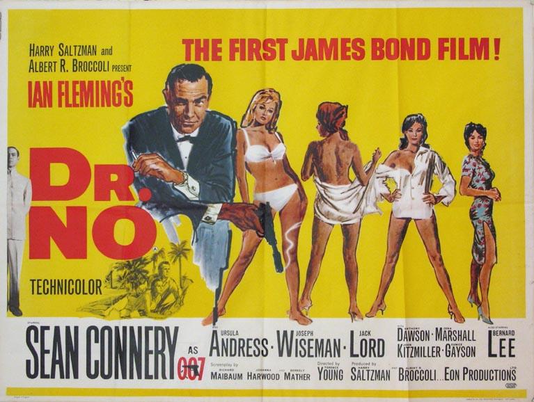 Dr. No (1962) USD 12.500:- (omkr. 87.500:- )
