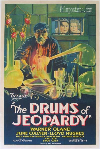 Drums of Jeopardy (1931) Pris: USD 6.000:- (omkr. SEK 42.000:- )