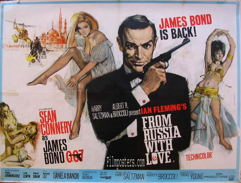 From Russia With Love (1964) Pris: USD 9.500:- (omkr. 66.500:- )