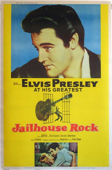 Jailhouse Rock (1957)  Pris: USD 5.000 (omkr. SEK 35.000:- )