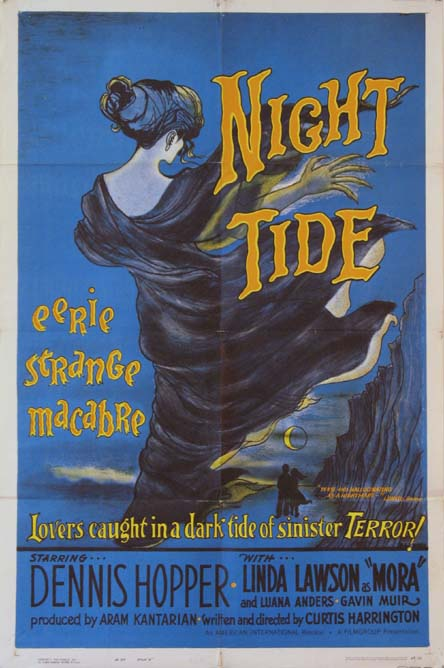 Night Tide (1963) Pris: USD 1.250 (omkr. SEK 8750:- )