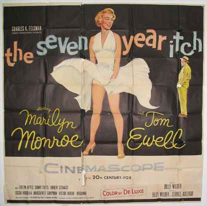 The Seven year Itch (1955) Pris: USD 9.000:- (omkr. 63.000:-)