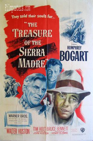 The Treasure of Sierra Madre (1948) Pris: USD 55.00:- (omkr. SEK 38.500:- )