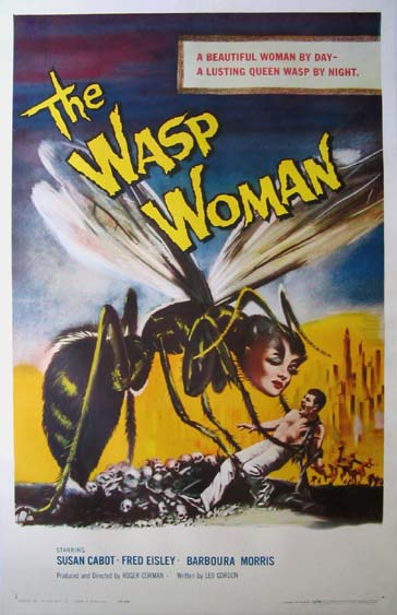 The Wasp Woman (1960) Pris: USD 4.500:- (omkr. SEK 31.500:- )