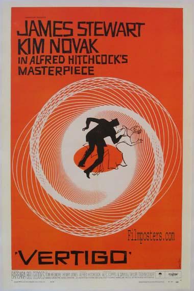 Vertigo (1958) Pris: USD 7.500 (omkr. SEK 52.500:- )