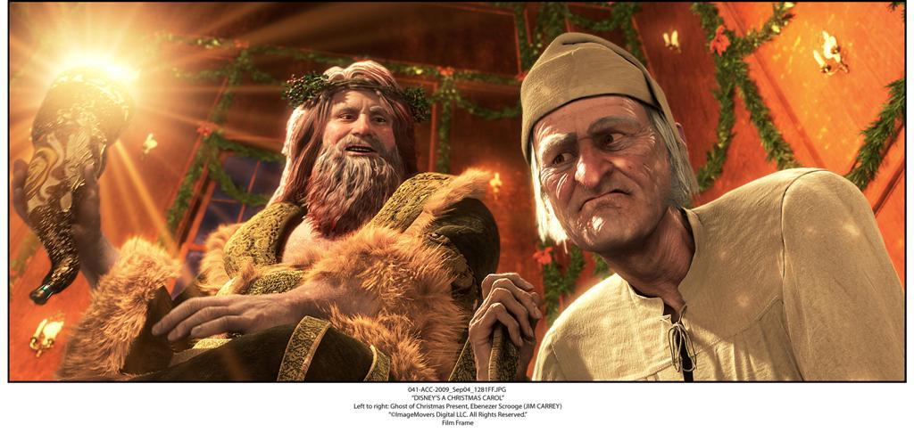 En Julsaga med Jim Carrey
