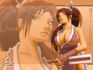 King of Fighters - Beat 'em up-bruden Mai
