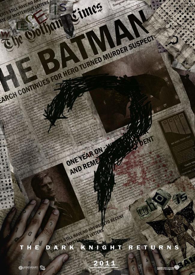 Batman 3 - fan poster