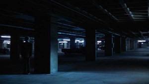 Hemligt möte i parkeringshus - All the President's Men