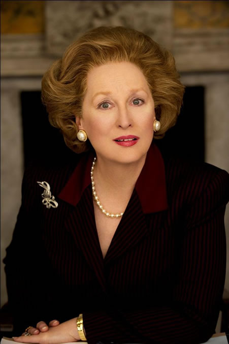 """""""The Iron Lady"""" The Movie about Margaret Thatcher starring Meryl Streep"""