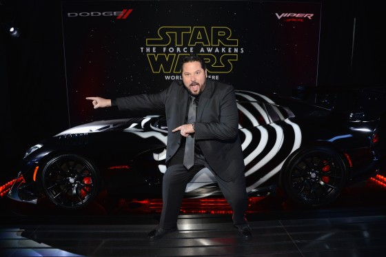 LOS ANGELES, CA - DECEMBER 14:  Actor Greg Grunberg arrives at the premiere of Walt Disney Pictures' and Lucasfilm's