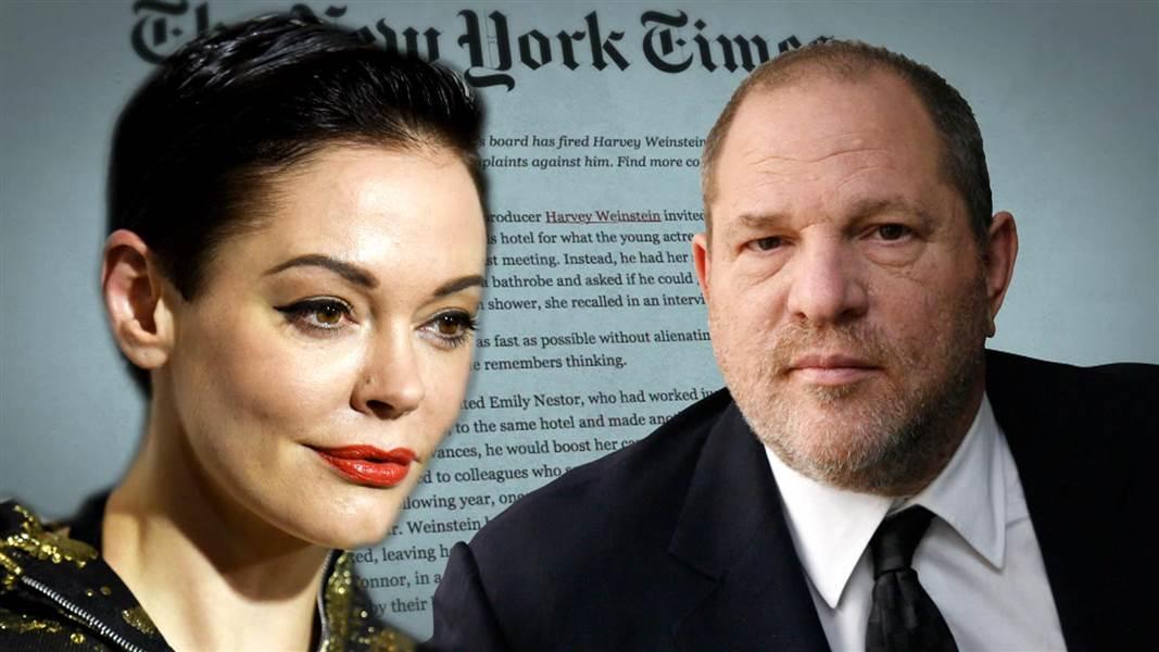 Alla 32 anklagade Hollywoodmän och offren på ett bräde