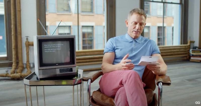 Daniel Craig svarar på frågor om James Bond Agent 007 – Video